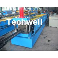 Buy cheap Single Side Adjustable C Purlin Roll Form Machines With Manual / Hydraulic Decoiler product