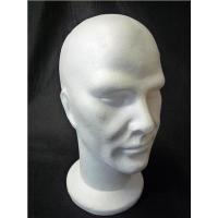 Buy cheap Plastic Female Head Mannequin Stand ON SALE product