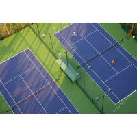 Buy cheap Basketball / Tennis Court Flooring 3 - 8mm Thickness With Sandwich System product