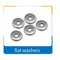 Buy cheap DIN 125 M3-M56 Color Metal Flat Washers With Carbon Steel Material product