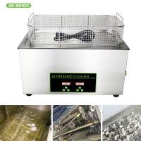 Buy cheap Heated Industrial Pump Digital Ultrasonic Cleaning Machine Automatic 30l Tank from wholesalers