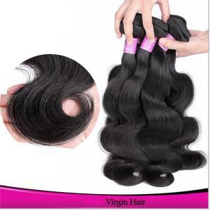 Buy cheap Cheap Human Hair Bundles Brazilian Human Hair Wet and Wavy Hair Weave product