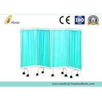 Buy cheap Hospital Privacy Screens Stainless Steel Waterproof Cloth medical Ward Screen (ALS-WS06) product