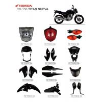 Buy cheap CG150 Titan Nueva Motorbike Accessories New Material With ISO900 Certification product