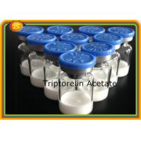 Buy cheap triptorelin 57773-63-4 Peptides Supplements Bodybuilding Triptorelin Acetate Treating PCA Uterine Cancer product