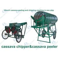 Buy cheap Cassava Peeling And Chipping/slicing Machine / Tapioca Chipper product