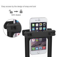 Buy cheap Eco Friendly TPU Waterproof Phone Holder , Waterproof Cell Phone Case Recyclable Feature product