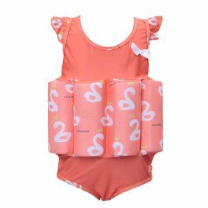 Buy cheap Pink Neoprene Floatation Girls Float Suit / Swimming Floating Vest For Kids product