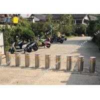 Buy cheap Traffic Road Electric Retractable Bollards Pneumatic Type Anti Corrosion product