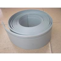 Quality 100mm width/5mm thickness skirting board/floor modling/PVC/light green/any color for sale