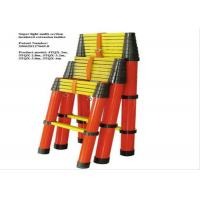 Buy cheap FRP Insulation Ladder Multi - Section Insulated Telescopic Ladder Protective Tools product