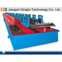 Buy cheap Automatic Shelf Rack Upright Roll Forming Machine with Gearbox and Cr12 Roller from wholesalers