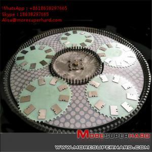 China Double Disc Diamond & CBN Grinding Wheel  Alisa@moresuperhard.com on sale