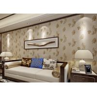 Buy cheap Bronzing Modern Removable Wallpaper with Pottery Natural Crack product