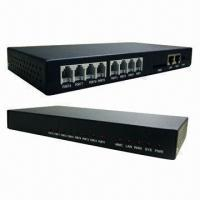 Buy cheap VoIP Gateway, 8 Ports Network Router with Open Source Asterisk product