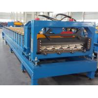 Buy cheap CE Roof Panel Roll Forming Machinery 18 Stations 5 Tons De - Coiler Single Chains product