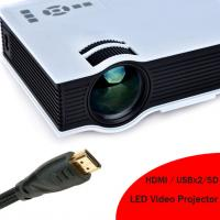 Quality 2016 New Arrival HD LED Projector Built In Speaker HDMI Support 1080p LED Video Projecteur for sale