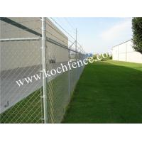 China Sustainable Chain Link Security Fence With Special Antirust Ablity 6ft Chain Link Gate on sale