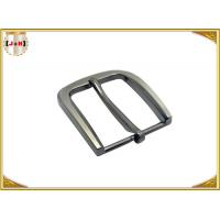 Buy cheap 35MM Pearl Nickel Brushed Custom Metal Die Casting Belt Buckle For Men's Belt product