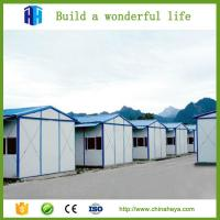 Low cost steel frame prefabricated movable house kits for Low cost home building kits