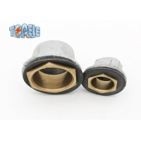 Buy cheap BS Electrical Conduit Malleable Iron Flanged Coupling With Washer And Brass Bush product