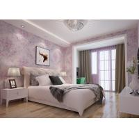 Buy cheap Beautiful Floral Pattern Country Style Wallpaper Embossed for Bedroom 0.53*10M product