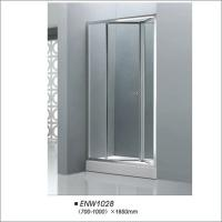 Buy cheap Professional Bathroom Folding Door Shower Screen Tempered Glass Easy Installation product