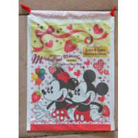 Buy cheap Lovely Printed Drawstring Plastic Bags With Disney Cartoons For Children Toy product