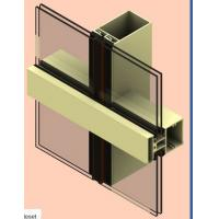 Buy cheap Alloy 6061 Aluminum Curtain Wall Profile Anodized For Construction product