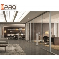 Buy cheap Customized Removable Wall Soundproof Glass Office Partitions product