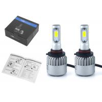 Buy cheap 6500K Auto LED Headlamp Bulbs S2 9005 HB3 72W 8000LM COB Led Headlights For Cars from wholesalers
