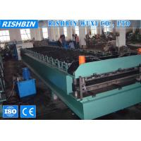 Classic Rib Long Span Roof Panel Roll Forming Machine 70 mm Roller