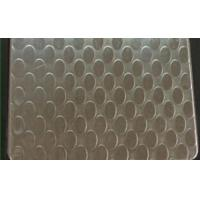 Quality SUS 409 Patterned Stainless Steel Sheet , Textured Stainless Steel Sheet Metal for sale