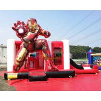 Buy cheap Iron Man Ultimate Combo Inflatable Bounce House Toboggan Castillos Hinchables product