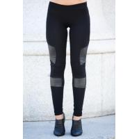 Buy cheap Black Women'S Fashion Leggings PU Leather Leggings 92% Cotton 8% Spandex product
