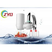Buy cheap 3 Filter Water Purifier For Tap Water , Double Out Water Purifier Tap Filter product