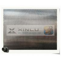 Buy cheap Water Well V Wedge Johnson Wire Screen Filter Strainers / Sand Filtration Media product