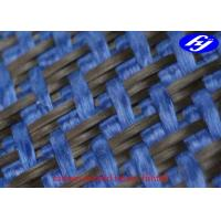 Buy cheap Plane Pattern Carbon Aramid Fabric Carbon Blue Carbon Kevlar Hybrid Fabric product