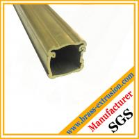 Buy cheap C38500 CuZn39Pb3  CuZn39Pb2 CW612N C37700 two parts joint brass extrusion section product