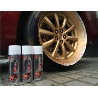 Buy cheap Fluorescent / Luminous Removable Rubber Spray Paint With Liquid Coating product