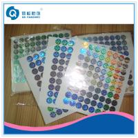 Buy cheap Custom Hologram Stickers For Supermarket , Waterproof Laser Printer Labels product