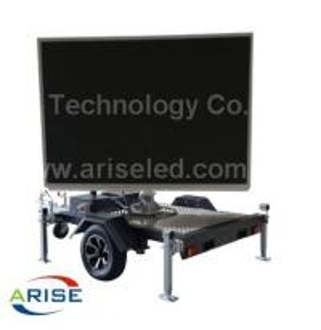 Buy cheap Waterproof DIP346 Mobile Led Billboard Truck Mounted LED Screen RGB 16mm P5 P6 P8 P10 P12 product