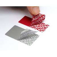 Buy cheap Variable Data Printing Tamper Proof Security Labels Hi - Tech Nanometer Technology product