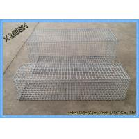 Quality DIN EN ISO 17660 Galvanized Gabion Baskets Fence High Alloyed Steel Wires for sale