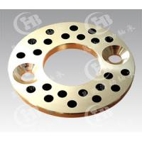 C86300 material Self-lubricating Oilless bronze Thrust Washers with graphite