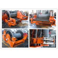 Buy cheap Customized High Power Hydraulic Tugger Winch Lebus Grooves Long Life Span product