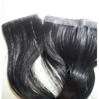 Indian remy hand tied hair weft