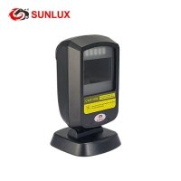 Buy cheap Black Case Cheapest Price 1D 2D QR Code USB Fixed Barcode Scanner from wholesalers