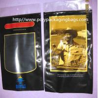 Buy cheap Plastic Printed PET + LDPE Cigar Fresh  Packaging Bags with Sponge with humidified system inside product