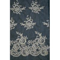 Buy cheap Ivory   Embroidery Lace Fabric for Wedding Dress Hot Sale product